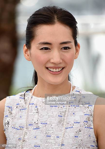 Actress Haruka Ayase attends the 'Umimachi Diary' photocall during the 68th annual Cannes Film Festival on May 14 2015 in Cannes France
