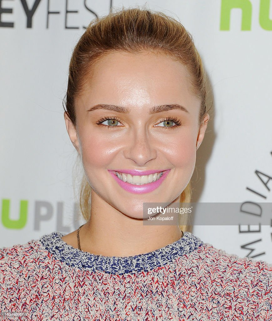 Actress Hayden Panettiere arrives at 'Nashville' part of the 30th Annal William S Paley Television Festival at Saban Theatre on March 9 2013 in...
