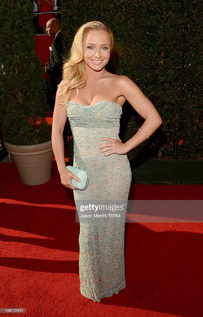 Actress Hayden Panettiere arrives at the 2012 ESPY Awards at Nokia Theatre L.A. Live on July 11, 2012 in Los Angeles, California.