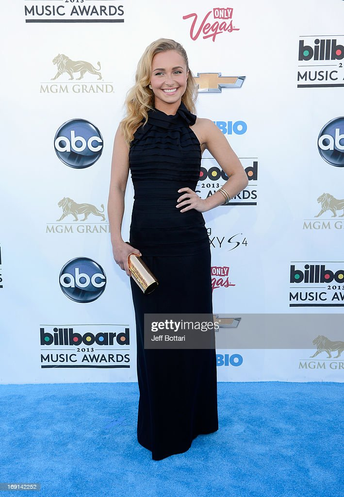Actress Hayden Panettiere arrives at the 2013 Billboard Music Awards at the MGM Grand Garden Arena on May 19, 2013 in Las Vegas, Nevada.