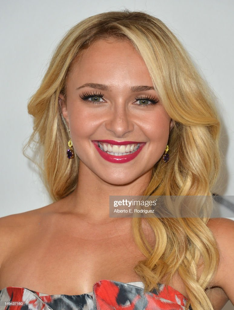 Actress <a gi-track='captionPersonalityLinkClicked' href=/galleries/search?phrase=Hayden+Panettiere&family=editorial&specificpeople=204227 ng-click='$event.stopPropagation()'>Hayden Panettiere</a> arrives to the Disney ABC Television Group's 2012 'TCA Summer Press Tour' on July 27, 2012 in Beverly Hills, California.