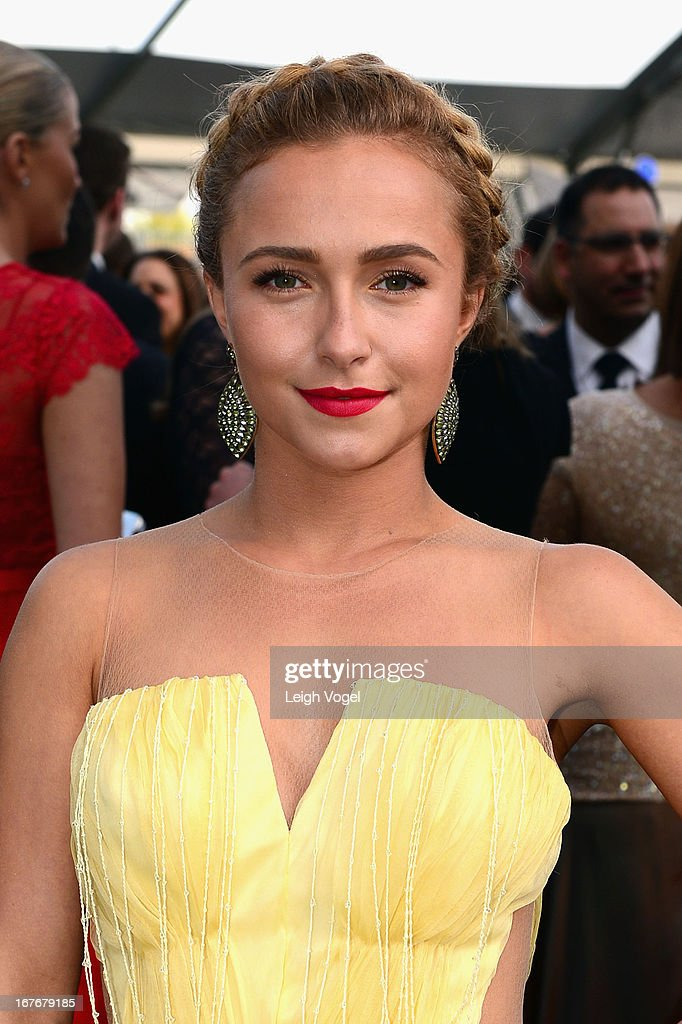 Actress Hayden Panettiere attends ABC News, Yahoo! News, Univision Pre-White House Correspondents Dinner cocktail reception at Washington Hilton on April 27, 2013 in Washington, DC.