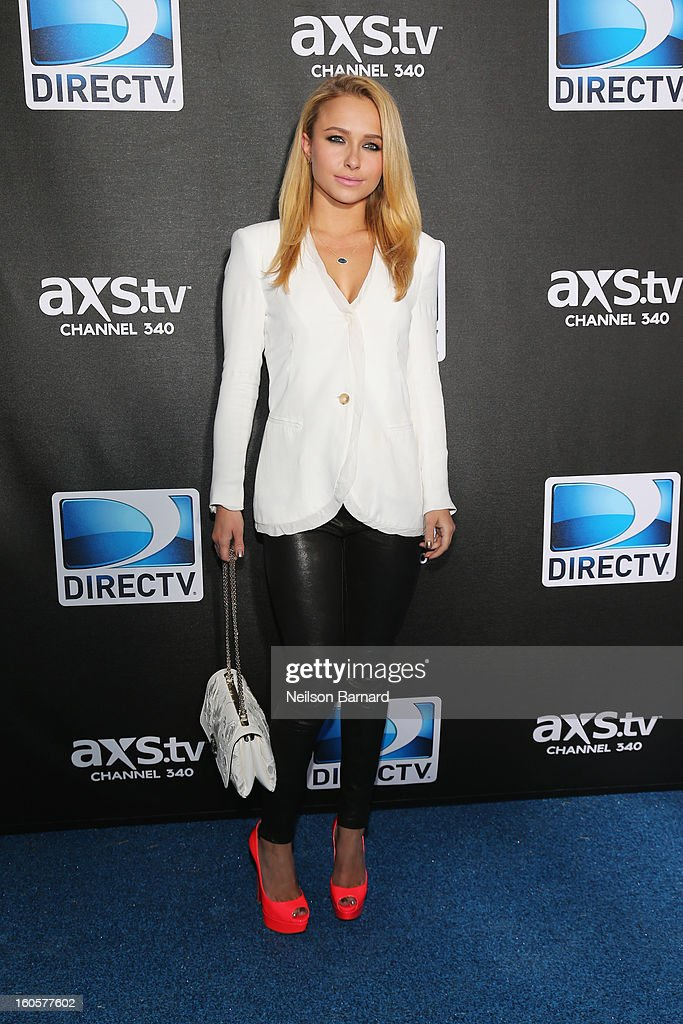 Actress Hayden Panettiere attends DIRECTV Super Saturday Night Featuring Special Guest Justin Timberlake & Co-Hosted By Mark Cuban's AXS TV on February 2, 2013 in New Orleans, Louisiana.