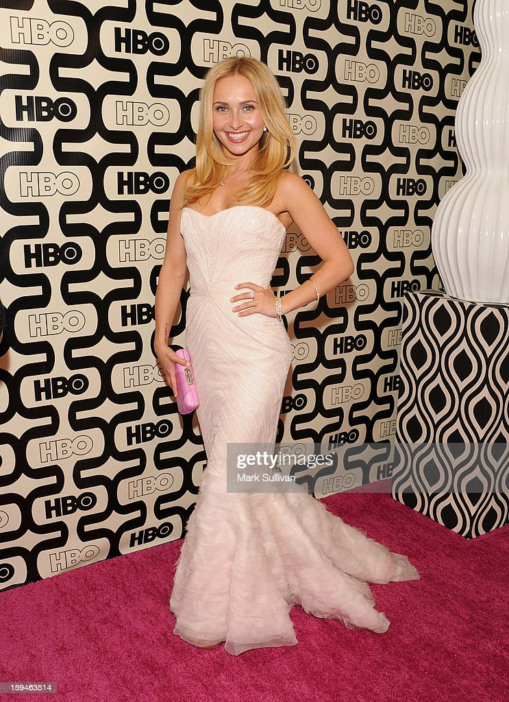 Actress Hayden Panettiere attends HBO's 70th Annual Golden Globes after party at Circa 55 Restaurant on January 13, 2013 in Los Angeles, California.