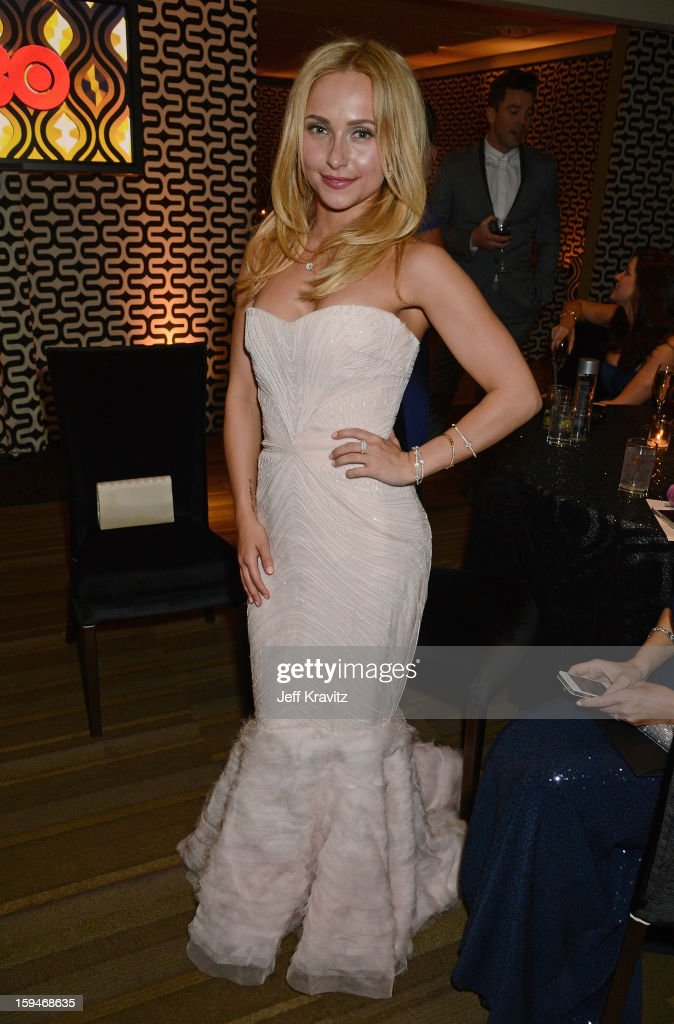 Actress Hayden Panettiere attends HBO's Official Golden Globe Awards After Party held at Circa 55 Restaurant at The Beverly Hilton Hotel on January 13, 2013 in Beverly Hills, California.