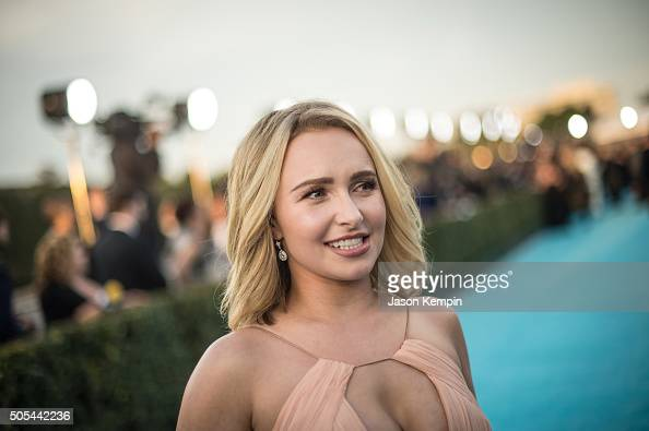 Actress Hayden Panettiere attends the 21st Annual Critics' Choice Awards at Barker Hangar on January 17 2016 in Santa Monica California