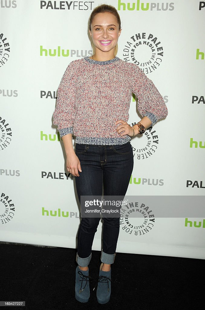 Actress Hayden Panettiere attends the 30th Annual PaleyFest: The William S. Paley Television Festival honors Nashville held at Saban Theatre on March 9, 2013 in Beverly Hills, California.