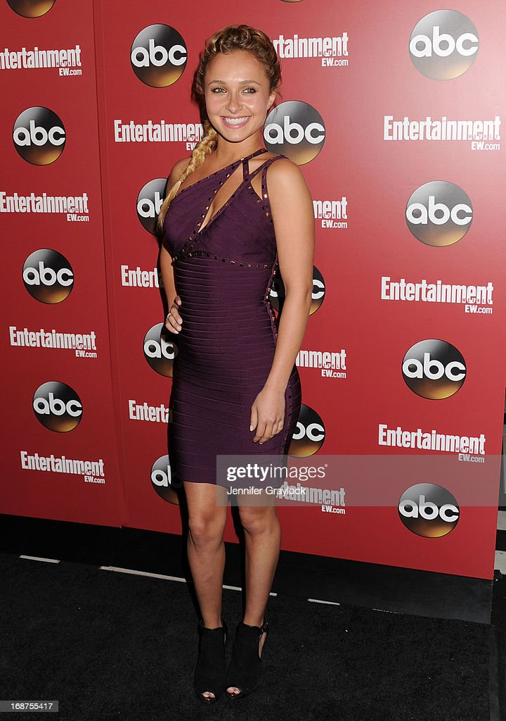Actress <a gi-track='captionPersonalityLinkClicked' href=/galleries/search?phrase=Hayden+Panettiere&family=editorial&specificpeople=204227 ng-click='$event.stopPropagation()'>Hayden Panettiere</a> attends the Entertainment Weekly & ABC 2013 New York Upfront Party at The General on May 14, 2013 in New York City.