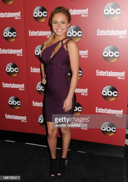 Actress Hayden Panettiere attends the Entertainment Weekly ABC 2013 New York Upfront Party at The General on May 14 2013 in New York City