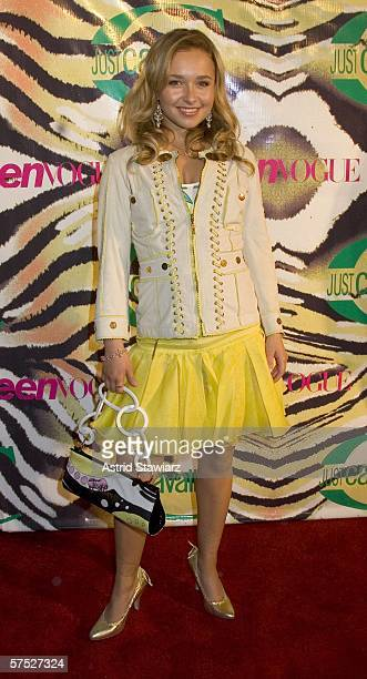 Actress Hayden Panettiere attends the Just Cavalli Teen Vogue party celebrating summer on May 3 2006 in New York City