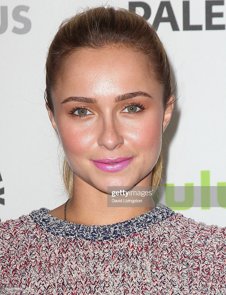 Actress <a gi-track='captionPersonalityLinkClicked' href=/galleries/search?phrase=Hayden+Panettiere&family=editorial&specificpeople=204227 ng-click='$event.stopPropagation()'>Hayden Panettiere</a> attends The Paley Center For Media's PaleyFest 2013 honoring 'Nashville' at the Saban Theatre on March 9, 2013 in Beverly Hills, California.