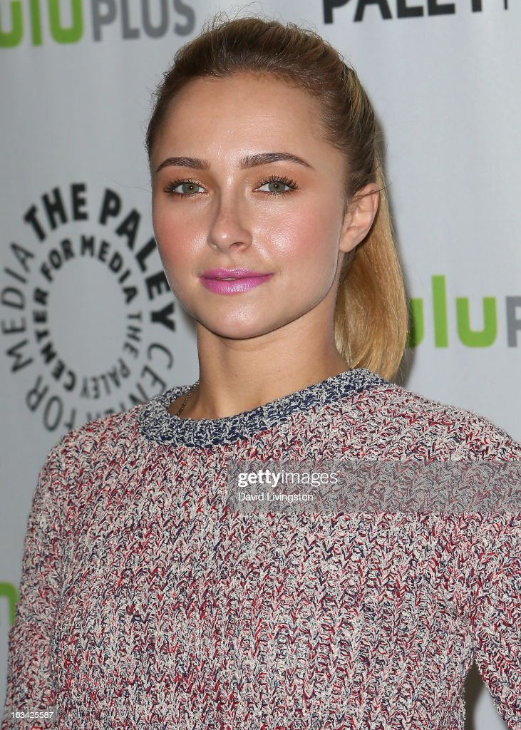 Actress Hayden Panettiere attends The Paley Center For Media's PaleyFest 2013 honoring 'Nashville' at the Saban Theatre on March 9 2013 in Beverly...