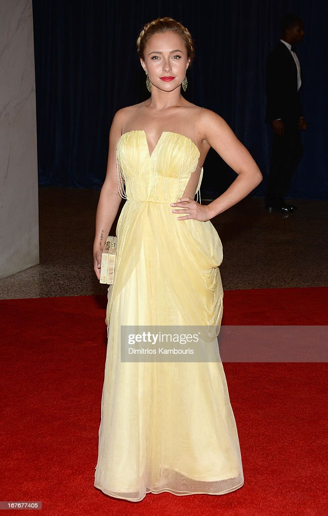 Actress Hayden Panettiere attends the White House Correspondents' Association Dinner at the Washington Hilton on April 27, 2013 in Washington, DC.