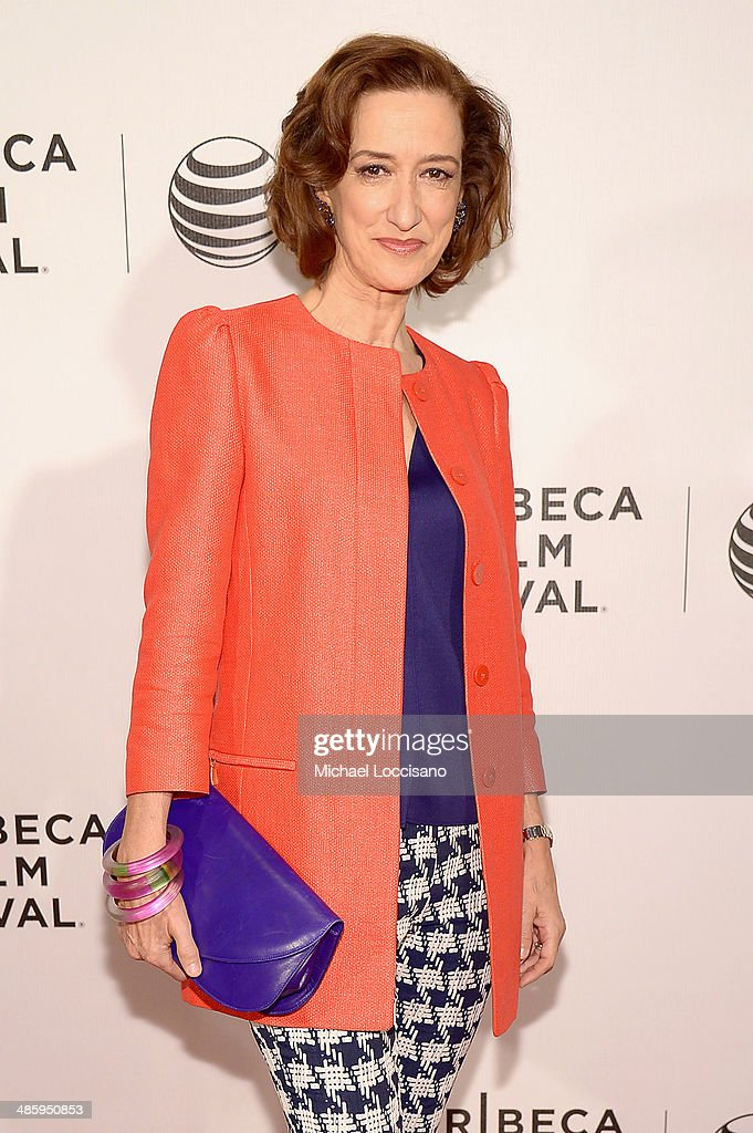 Actress Haydn Gwynne attends Tribeca Talks After The Movie 'NOW In the Wings On A World Stage' during the 2014 Tribeca Film Festival at BMCC Tribeca...