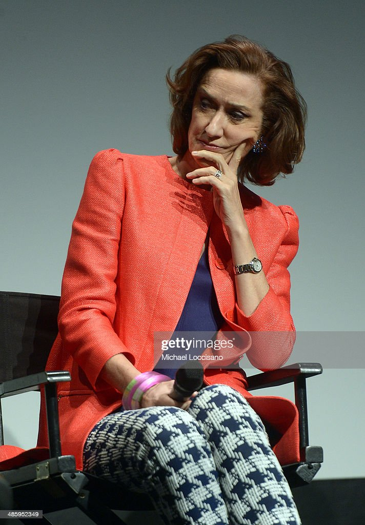 Actress Haydn Gwynne speaks onstage at Tribeca Talks After The Movie 'NOW In the Wings On A World Stage' during the 2014 Tribeca Film Festival at...