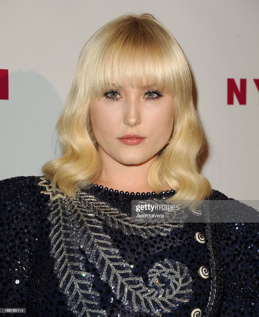 Actress Hayley Hasselhoff attends Nylon Magazine's Young Hollywood issue event at The Roosevelt Hotel on May 14, 2013 in Hollywood, California.