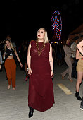 Actress Hayley Hasselhoff attends the Levi's Brand and RE/DONE Levi's presents NEON CARNIVAL with Tequila Don Julio on April 16 2016 in Thermal...
