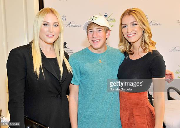 Actress Hayley Hasselhoff Christian and actress Nathalia Ramos attend Brooks Brothers MINI CLASSIC Golf Tournament to benefit St Jude Children's...
