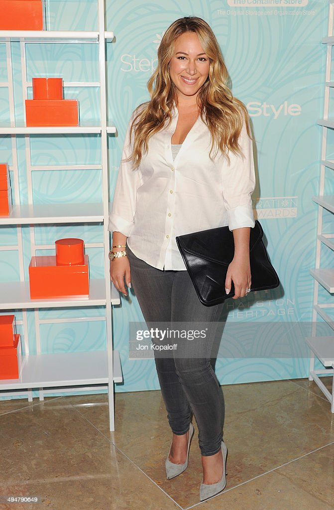 Actress <a gi-track='captionPersonalityLinkClicked' href=/galleries/search?phrase=Haylie+Duff&family=editorial&specificpeople=201497 ng-click='$event.stopPropagation()'>Haylie Duff</a> arrives at the Step Up 11th Annual Inspiration Awards at The Beverly Hilton Hotel on May 30, 2014 in Beverly Hills, California.