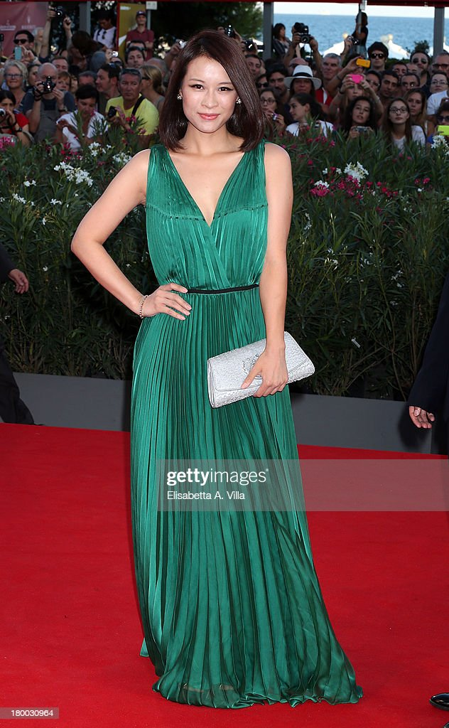Actress He Wenchao arrives at the closing ceremony of the 70th Venice International Film Festival at Palazzo del Cinema on September 7, 2013 in Venice, Italy.