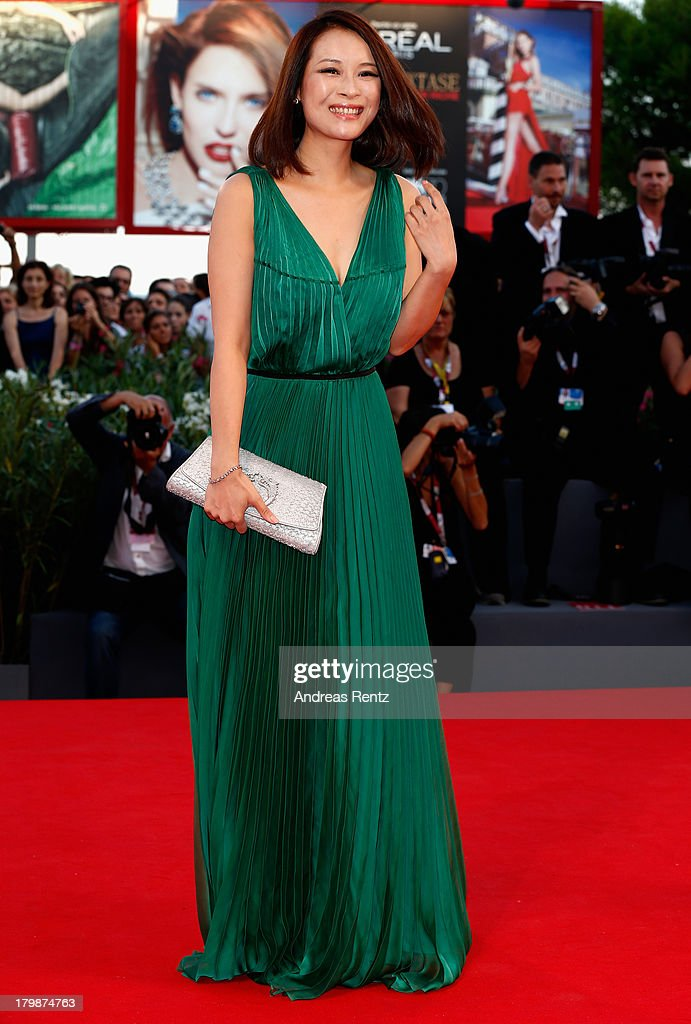 Actress He Wenchao attends the Closing Ceremony during the 70th Venice International Film Festival at the Palazzo del Cinema on September 7, 2013 in Venice, Italy.
