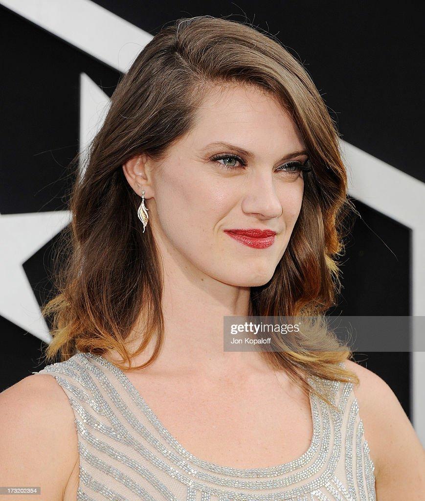 Premiere Of Warner Bros. Pictures And Legendary Pictures ... Heather Doerksen