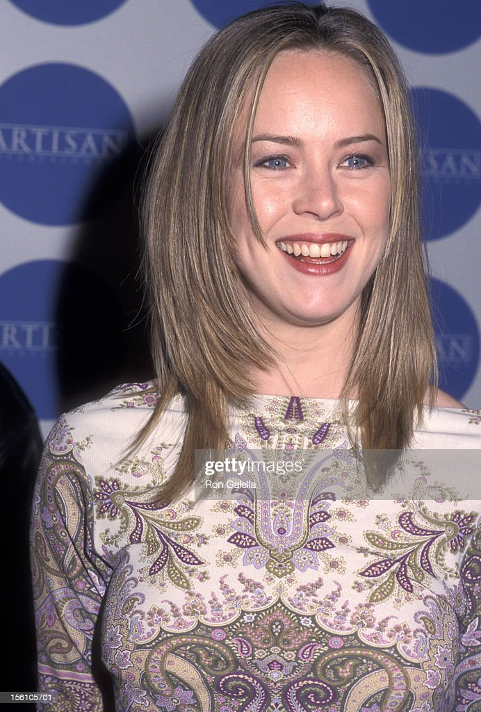 Actress Heather Donahue attends the Artisan Entertainment and Details Magazine Host Bash To Kick Off the Awards Weekend on March 24 2000 at Quixote...