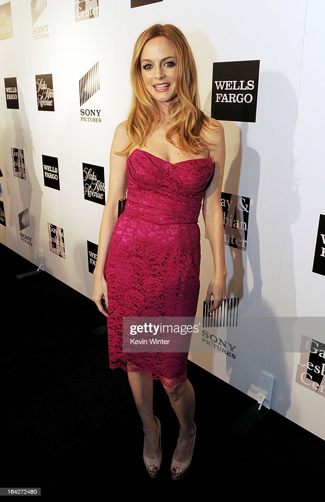 Actress Heather Graham arrives at 'An Evening' benifiting The L.A. Gay & Lesbian Center at the Beverly Wilshire Hotel on March 21, 2013 in Beverly Hills, California.