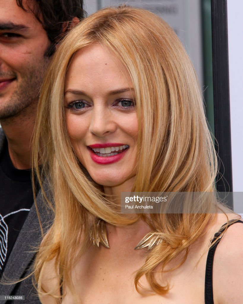 actress heather graham arrives at the judy moody and the not bummer picture id115243035