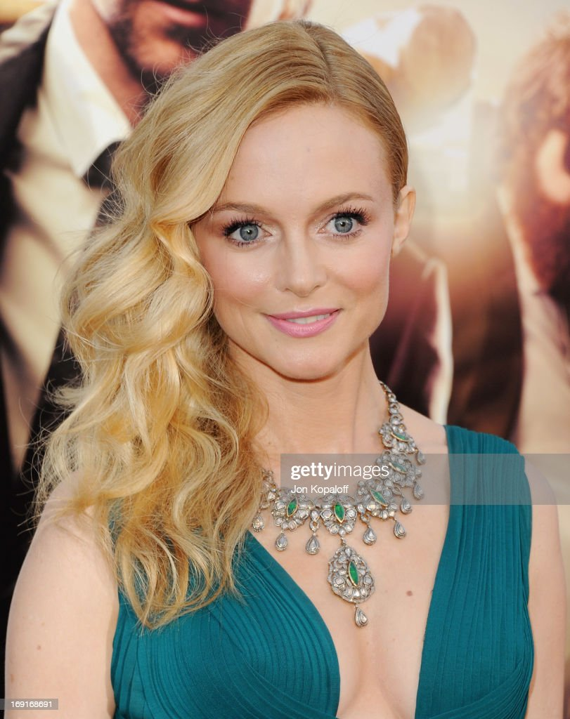 Actress Heather Graham arrives at the Los Angeles Premiere 'The Hangover: Part III' at Westwood Village Theatre on May 20, 2013 in Westwood, California.