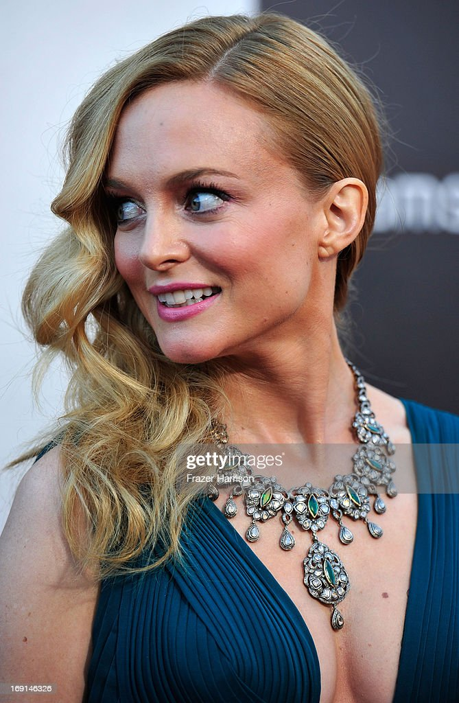 Actress Heather Graham arrives at the premiere of Warner Bros. Pictures' 'Hangover Part 3' on May 20, 2013 in Westwood, California.