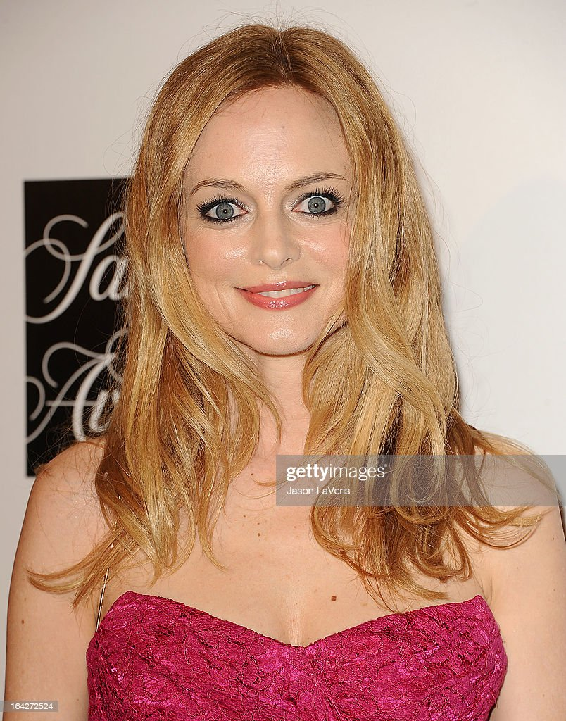 Actress Heather Graham attends 'An Evening' benefiting The L.A. Gay & Lesbian Center at the Beverly Wilshire Four Seasons Hotel on March 21, 2013 in Beverly Hills, California.