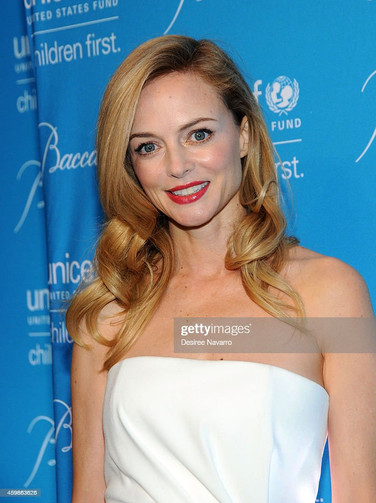 Actress Heather Graham attends the 10th Annual Unicef Snowflake Ball at Cipriani Wall Street on December 2, 2014 in New York City.