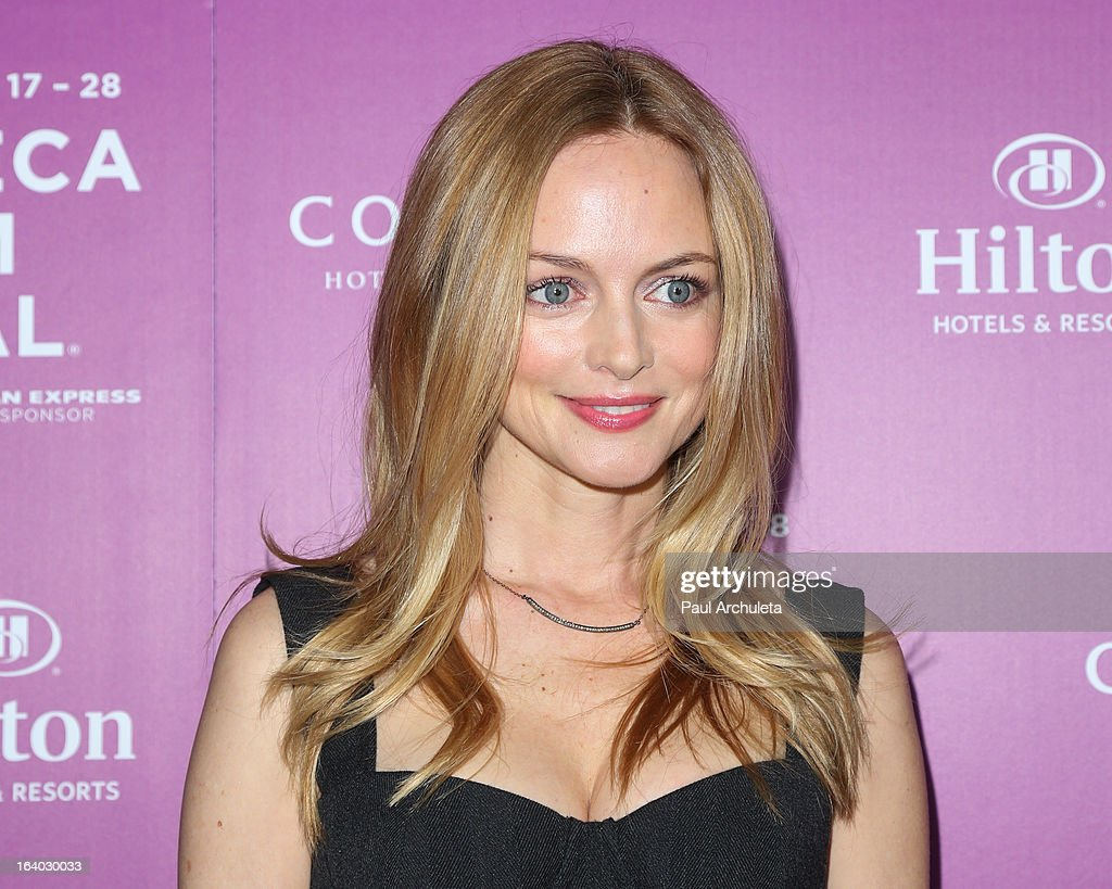 Actress Heather Graham attends the 5th annual Tribeca Film Festival 2013 LA reception at The Beverly Hilton Hotel on March 18, 2013 in Beverly Hills, California.