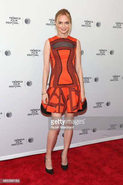 Actress Heather Graham attends the 'Goodbye To All That' Premiere during the 2014 Tribeca Film Festival at the SVA Theater on April 17 2014 in New...