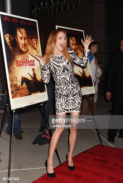 Actress Heather Graham attends the Premiere Of Epic Pictures Releasings' 'Last Rampage' at ArcLight Cinemas on September 21 2017 in Hollywood...