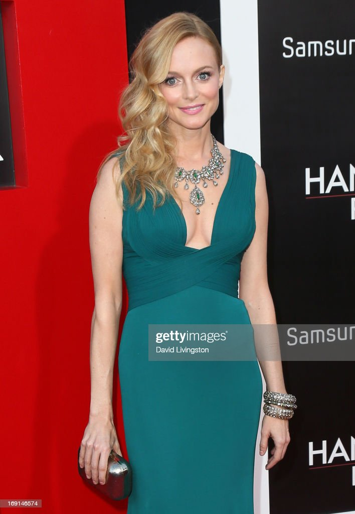 Actress Heather Graham attends the premiere of Warner Bros. Pictures' 'Hangover Part III' at the Westwood Village Theater on May 20, 2013 in Westwood, California.