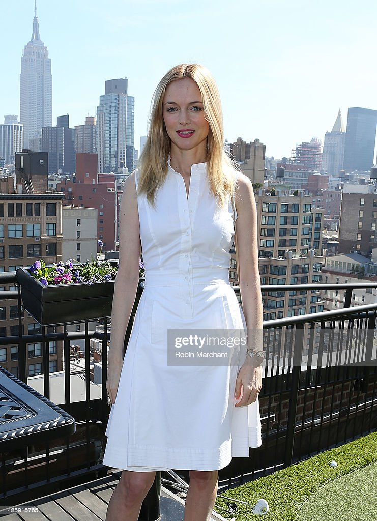 Actress <a gi-track='captionPersonalityLinkClicked' href=/galleries/search?phrase=Heather+Graham+-+Actress&family=editorial&specificpeople=204520 ng-click='$event.stopPropagation()'>Heather Graham</a> attends Women's Film Brunch at Company 3 on April 21, 2014 in New York City.