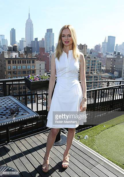 Actress Heather Graham attends Women's Film Brunch at Company 3 on April 21 2014 in New York City