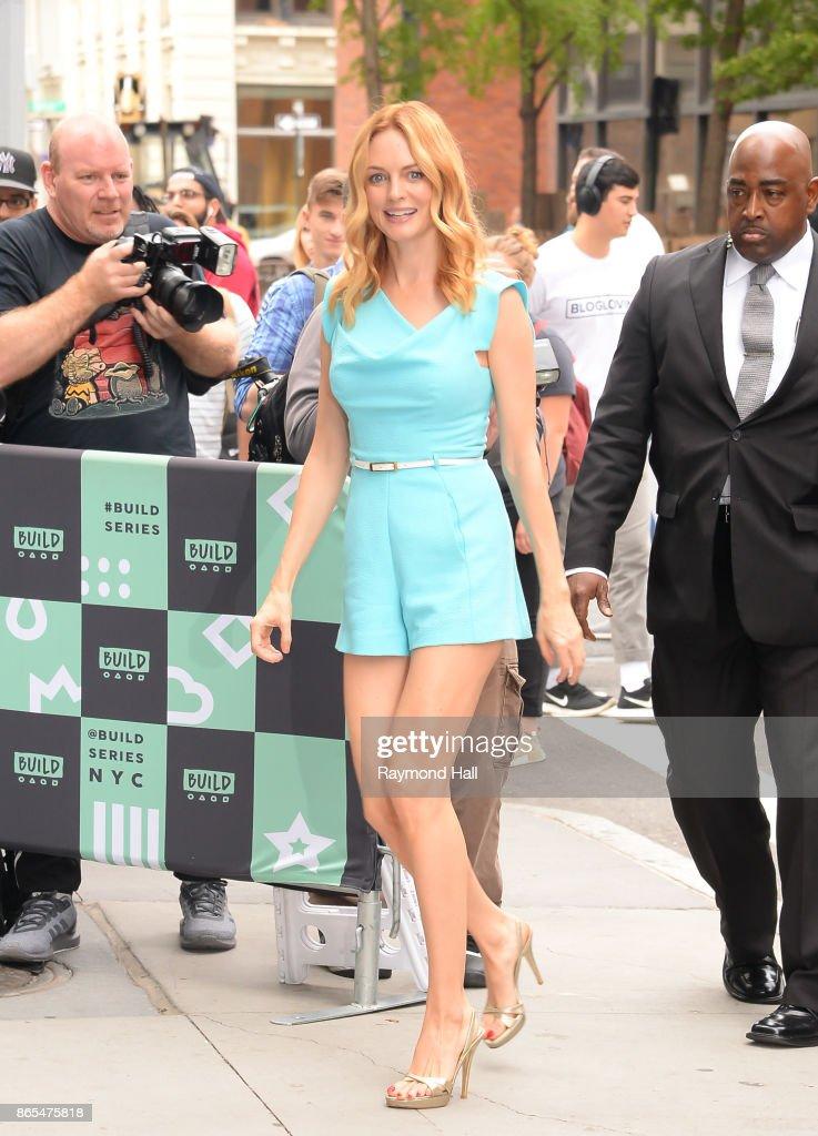 Celebrity Sightings in New York City - October 23, 2017