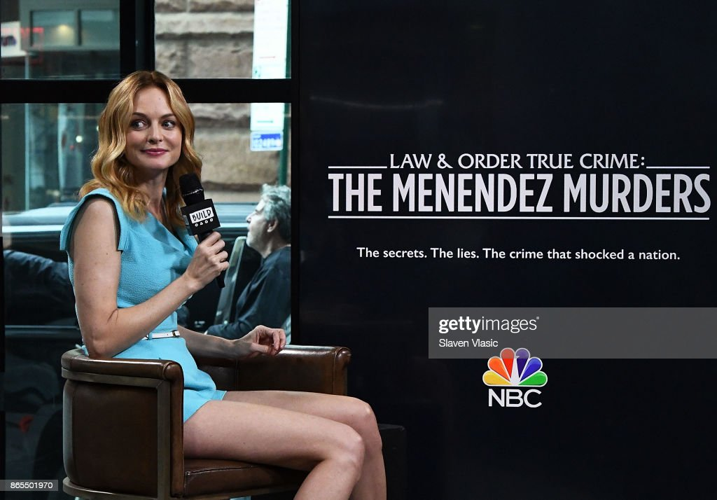 "Build Presents Heather Graham Discussing Her Show ""Law & Order True Crime: The Menendez Murders"""