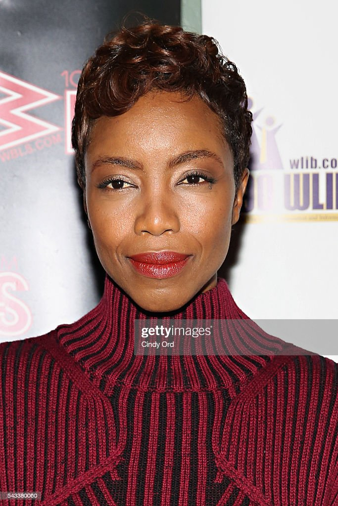 Actress <a gi-track='captionPersonalityLinkClicked' href=/galleries/search?phrase=Heather+Headley&family=editorial&specificpeople=224680 ng-click='$event.stopPropagation()'>Heather Headley</a> attends as WBLS 107.5 and 1190 WLIB celebrate Black Music Month with Broadway's 'The Color Purple' on June 27, 2016 in New York City.