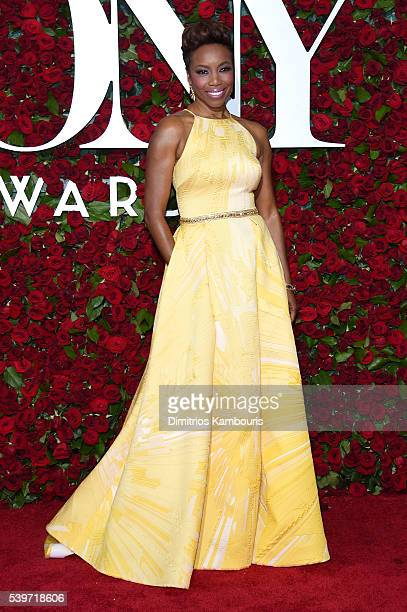 Actress Heather Headley attends the 70th Annual Tony Awards at The Beacon Theatre on June 12 2016 in New York City
