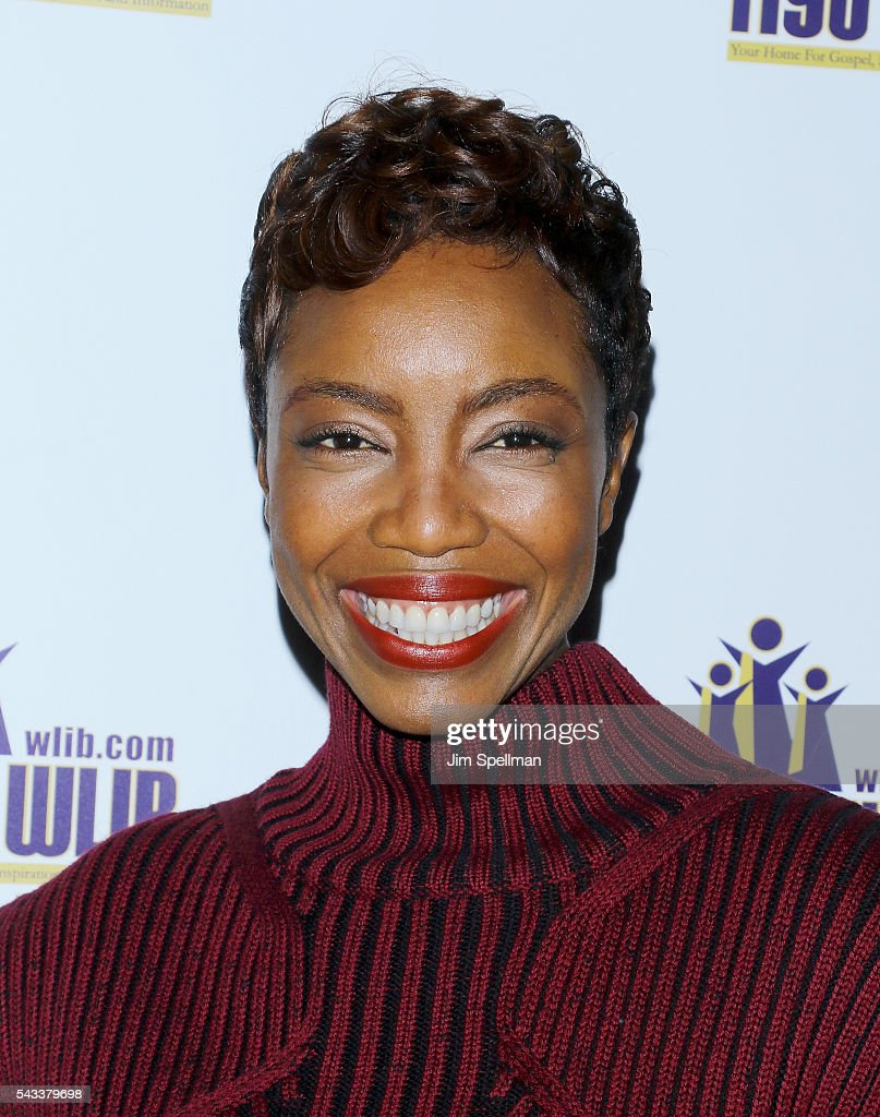 Actress <a gi-track='captionPersonalityLinkClicked' href=/galleries/search?phrase=Heather+Headley&family=editorial&specificpeople=224680 ng-click='$event.stopPropagation()'>Heather Headley</a> attends the WBLS 107.5 & 1190 WLIB celebrate black music month with Broadway's 'The Color Purple' on June 27, 2016 in New York City.