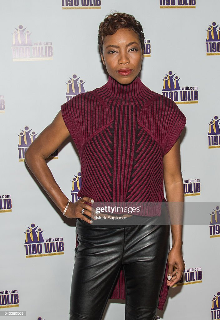 Actress <a gi-track='captionPersonalityLinkClicked' href=/galleries/search?phrase=Heather+Headley&family=editorial&specificpeople=224680 ng-click='$event.stopPropagation()'>Heather Headley</a> attends the WBLS 107.5 & 1190 WLIB Celebration of Black Music Month with Broadway's 'The Color Purple' on June 27, 2016 in New York City.