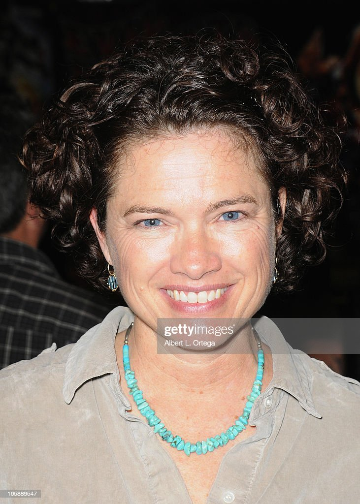 Actress Heather Langenkamp attends Los Angeles' Days Of The Dead Convention Day Two held at Los Angeles Convention Center on April 6 2013 in Los...