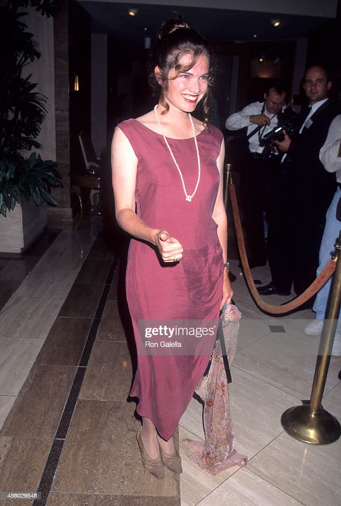 Actress Heather Langenkamp attends the 21st Annual Saturn Awards on June 26 1995 at the JW Marriott Hotel in Century City California