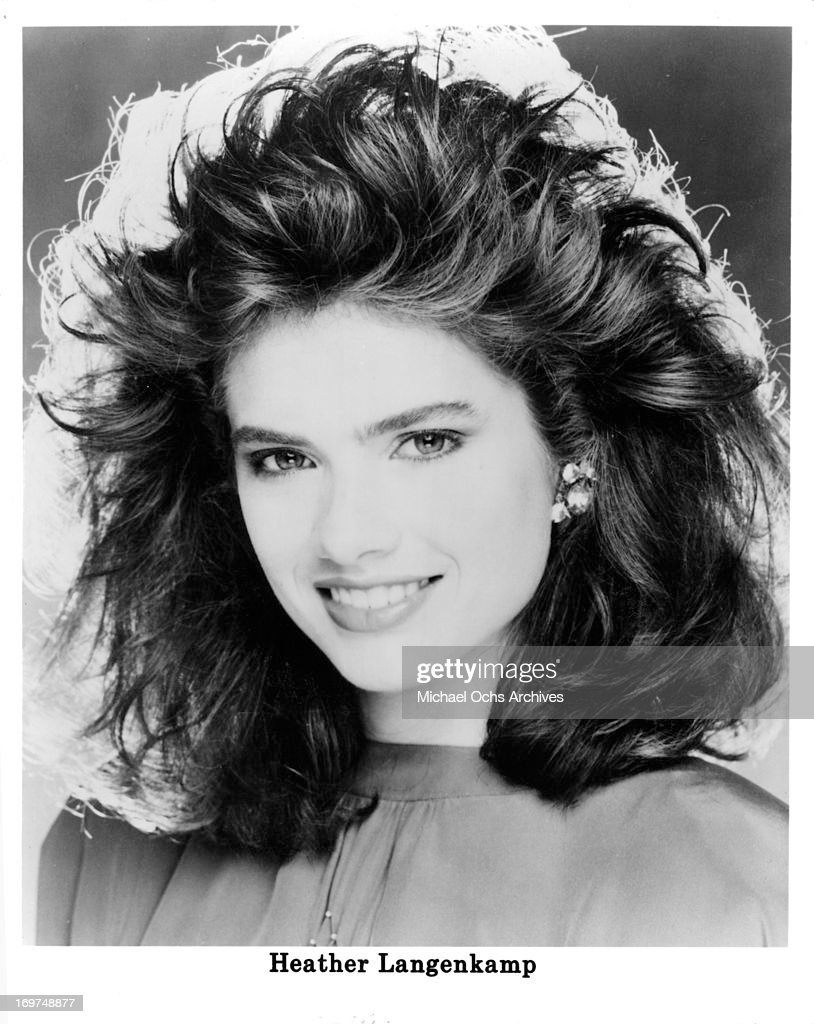 Actress Heather Langenkamp poses for a portrait in circa 1988