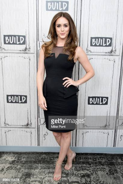 Actress Heather Lind visits Build Studio to discuss 'TURN Washington's Spies' at Build Studio on June 15 2017 in New York City
