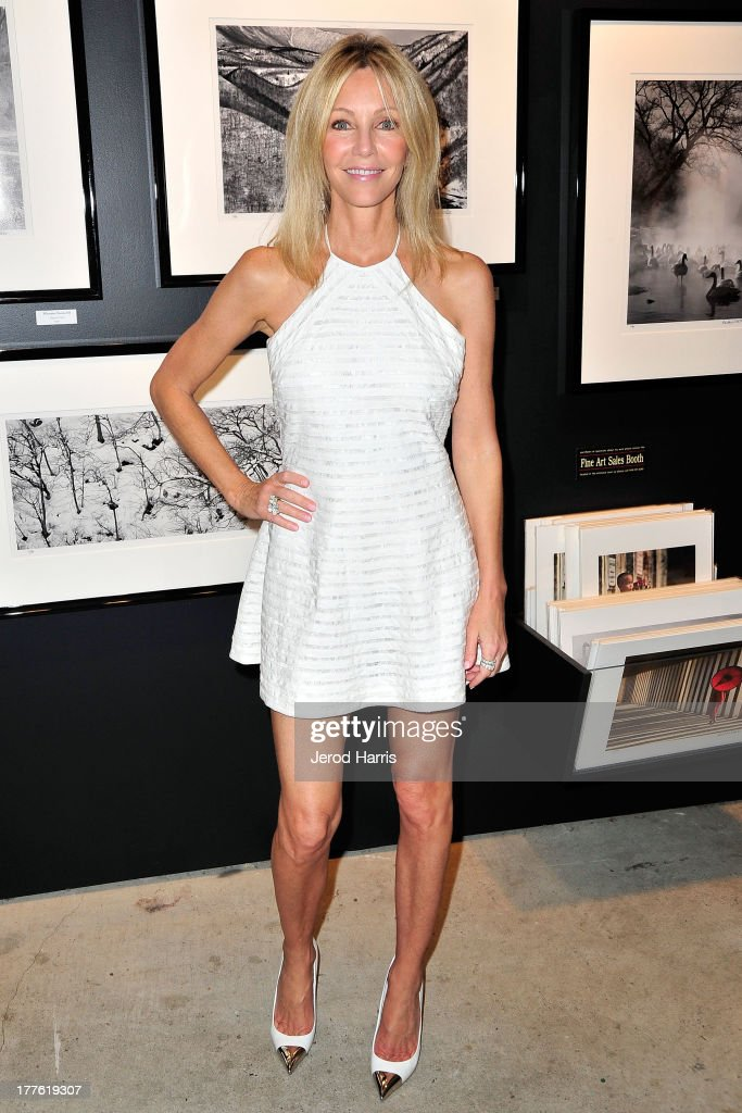 Actress Heather Locklear attends the Acura/KOST celebrity benefit concert and pageant on August 24, 2013 in Laguna Beach, California.